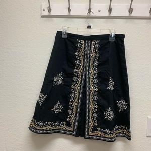 🌶New York & Company black skirt size 8.
